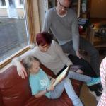 Det är roligt att läsa för någon